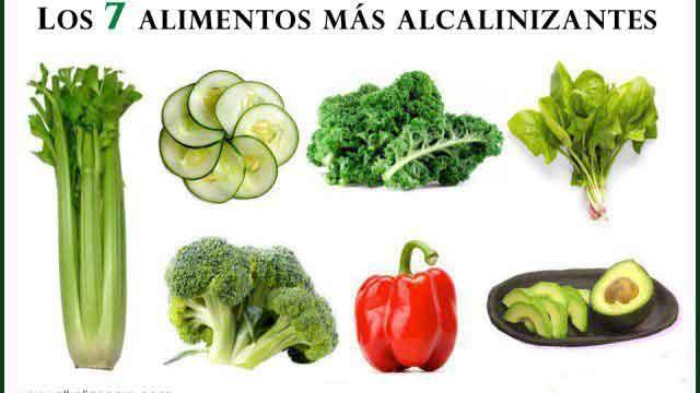 7 alimentos alcalinos